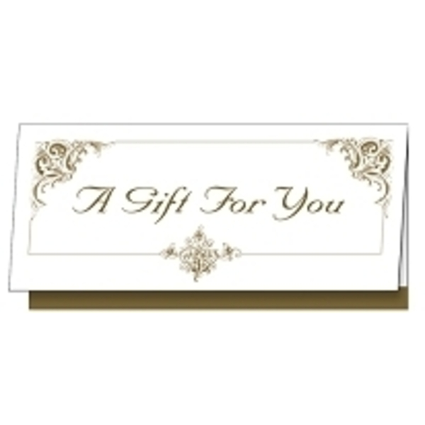 Golden Gift Certificate 25 Pack