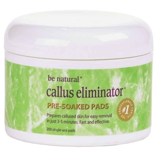 Be Natural® Callus Eliminator® Pre-Soaked Pads (C1537)
