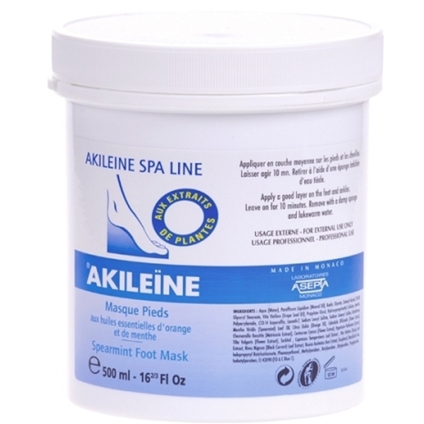 Akileine® Spearmint Foot Mask 16.9 oz. (C2239T)