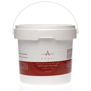 Amber® Sedona & French Red Clay Mud Masque/ 1/2 Gallon (C4321T)