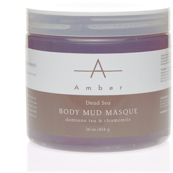 Amber® Dead Sea & Chamomile Mud Masque / 16oz (C4323T)