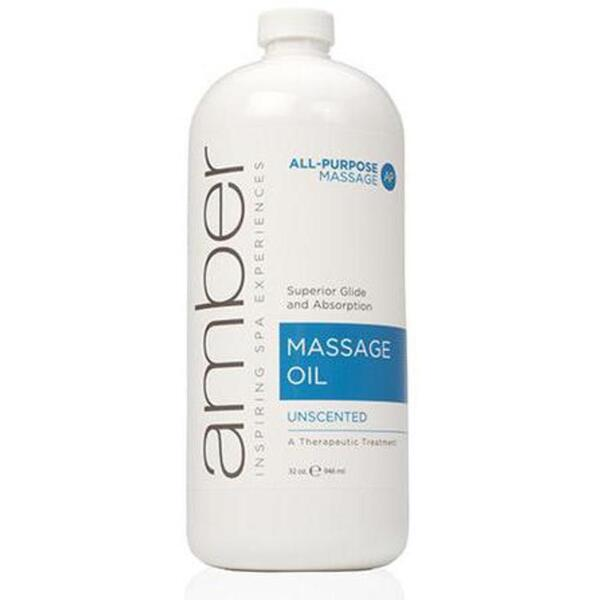 Amber® Unscented Massage Oil / 32oz (C4360T)