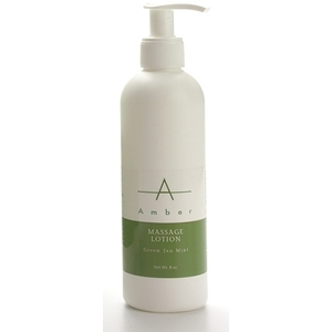 Amber® Green Tea Mint Massage Lotion / 8oz (C4368T)