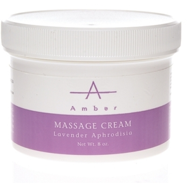 Amber® Lavender Aphrodisia Massage Cream / 8oz (C4374T)