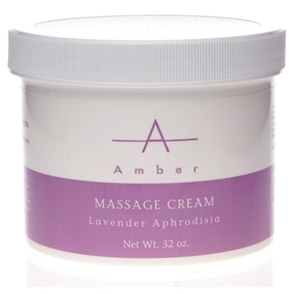 Amber® Lavender Aphrodisia Massage Cream / 32oz (C4375T)