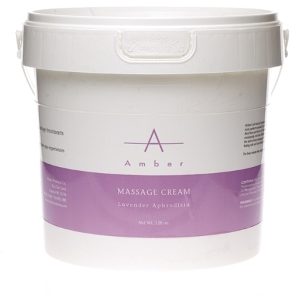 Amber® Lavender Aphrodisia Massage Cream / 1 Gallon (C4376T)