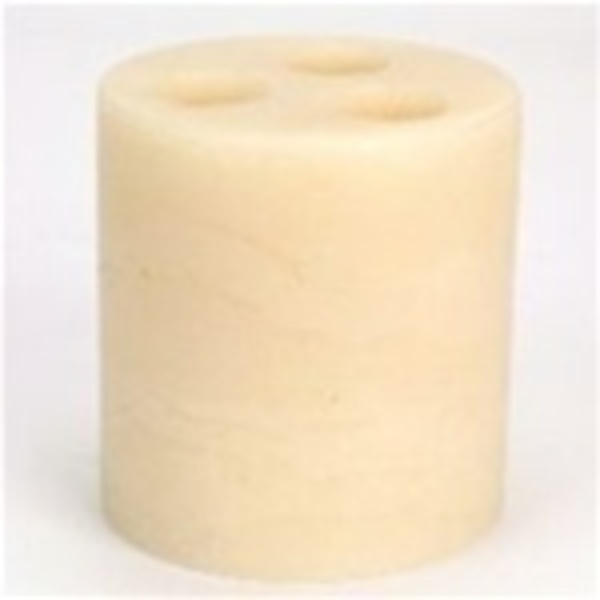 "6"" x 6"" LED Candle Holder / Ivory (C5053)"