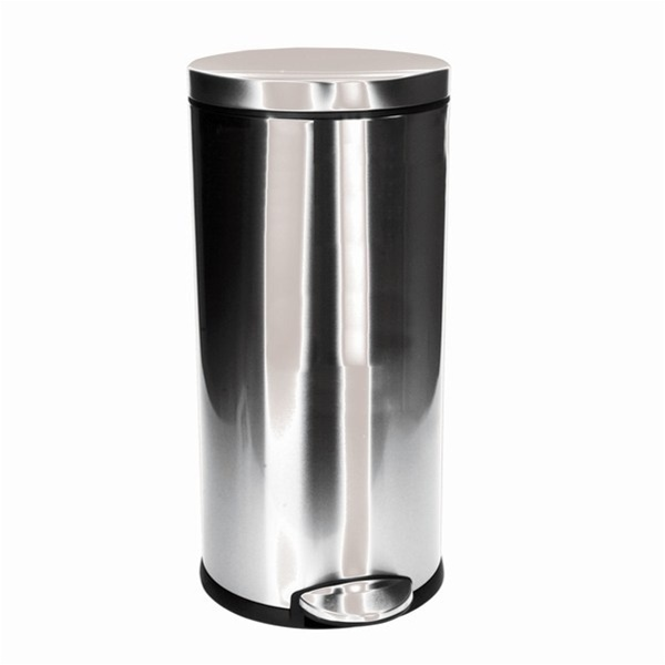 Stainless Steel Trash Can / Large (C5787)