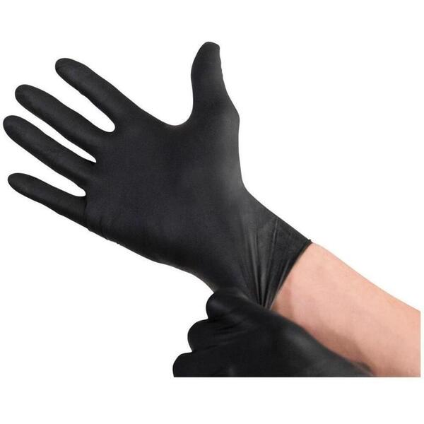 Black Powder-Free Nitrile Gloves / 100 / Small (46636)