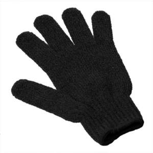 Exfoliating Massage Glove / Black (C1330)
