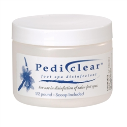 Pediclear Foot Spa Disinfectant / 1/2 lb (C1467T)