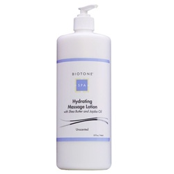 Biotone Unscented Hydrating Massage Lotion / 32oz (C418T)