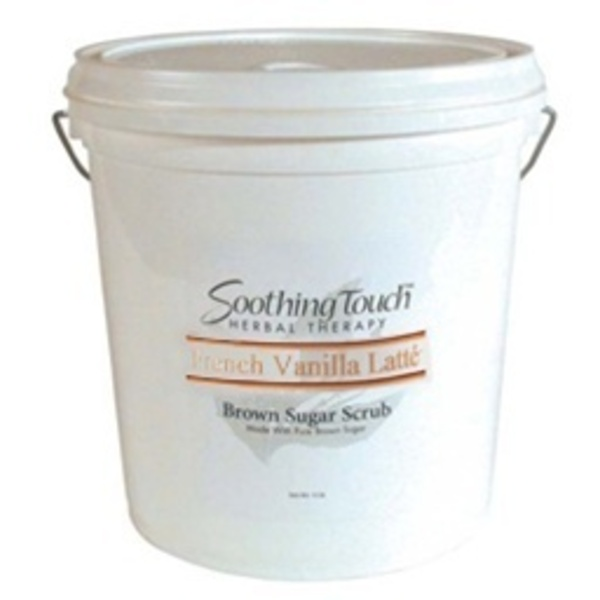 Soothing Touch French Vanilla Latte Brown Sugar Scrub / 2 Gallon (ST270)