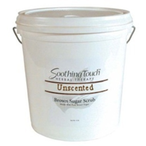 Soothing Touch Unscented Brown Sugar Scrub / 2 Gallon (ST272)