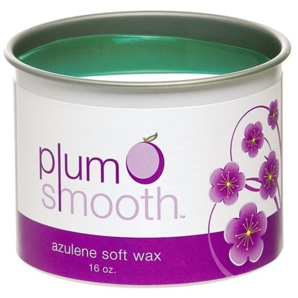 Plum Smooth Classic Azulene Wax / 16 oz.