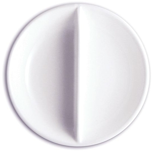 "3.75"" Porcelain Divided Dish (360211)"