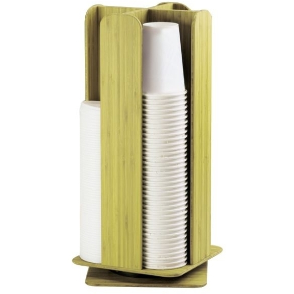 Bamboo Revolving Dispenser (C5718T)