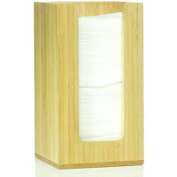 "Bamboo Napkin Holder 4""x4"" (C5723T)"