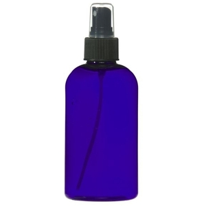 Cobalt Blue PET Bottle with Atomizer 8 oz. (C8049T)