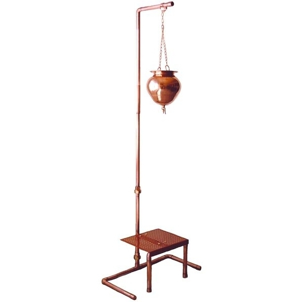 Copper Shirodhara Stand (C9365T)