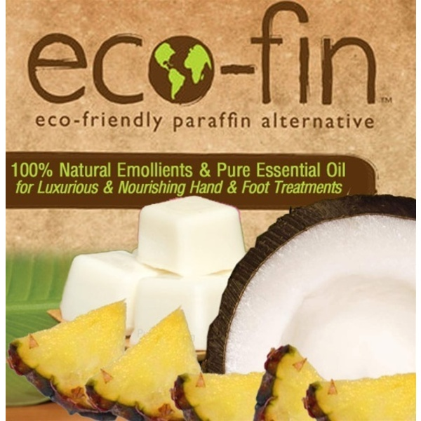 Eco-Fin™ Paraffin Alternative - Retreat: Coconut-Pineapple Blend 1 Lb. Tray of 40 Cubes