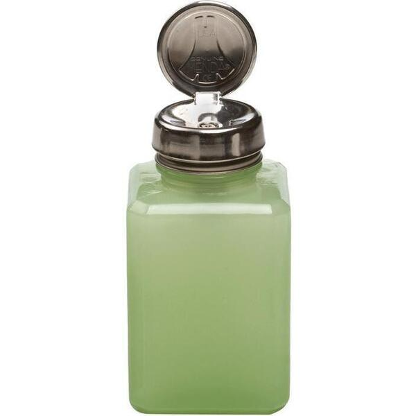 One Touch Liquid Pump Jade Glass 6 oz.