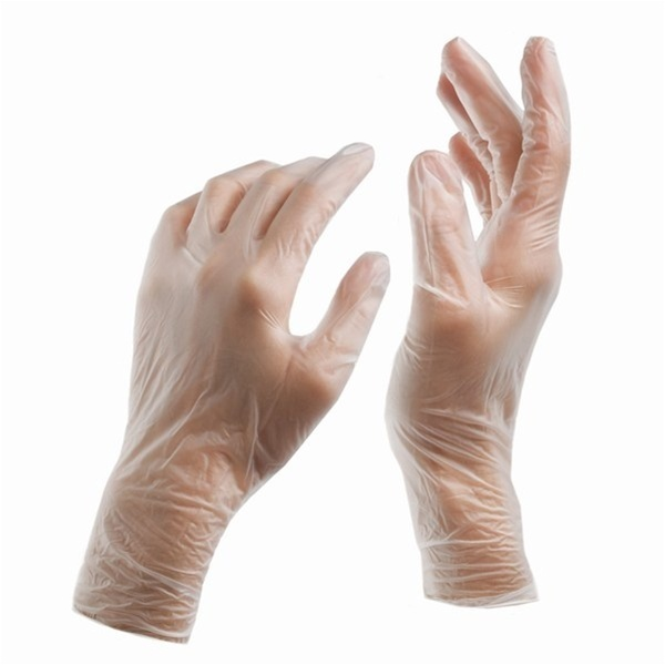 Salonfit® Free Vinyl Gloves - Powder Free Large