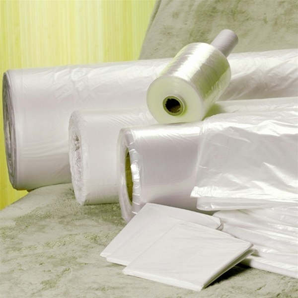 "Biodegradable Clear Poly Wrap 60""x 833'"
