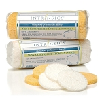 Intrinsics Non-Compressed Sponges White 25 Count