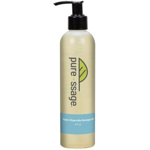Pure-ssage Water-Dispersible Massage Oil 8 oz.