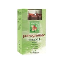 Clean+Easy® Pomegranate Wax Large Refill 3 Pack