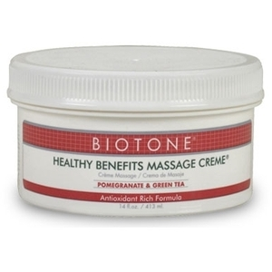 Biotone Healthy Benefits Massage Creme 14 oz.