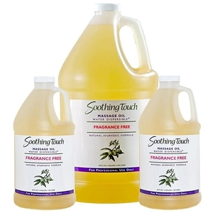 Soothing Touch Oil Fragrance Free 5 Gallons