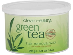 Clean+Easy Green Tea with Aloe Vera Pot Wax 14oz.