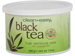 Clean+Easy Black Tea with Argan Oil Pot Wax 14oz.