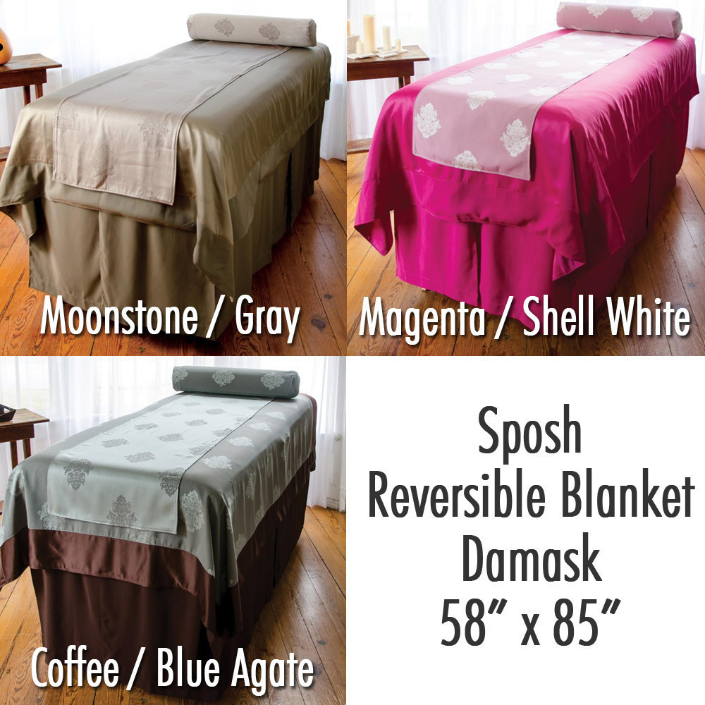 Living room celex furniture - Sposh Reversible Blanket Damask 58 W X 85 L Available In