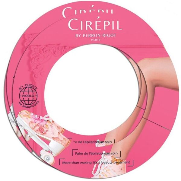 Cirepil Protective Wax Ring Collars 50 Pieces