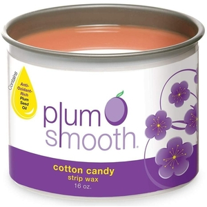 Plum Smooth Strip Wax - Cotton Candy 16 oz.