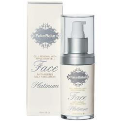 Fake Bake Platinum Face - Anti-Ageing Self Tan Lotion 2 oz.
