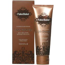 Fake Bake Lipo Bronze Self Tan Lotion with Anti-Cellulite - Firms and Tones 4.5 oz.