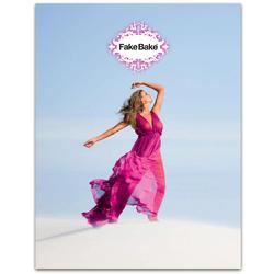 Fake Bake Tri-Fold Brochures 50 Pack