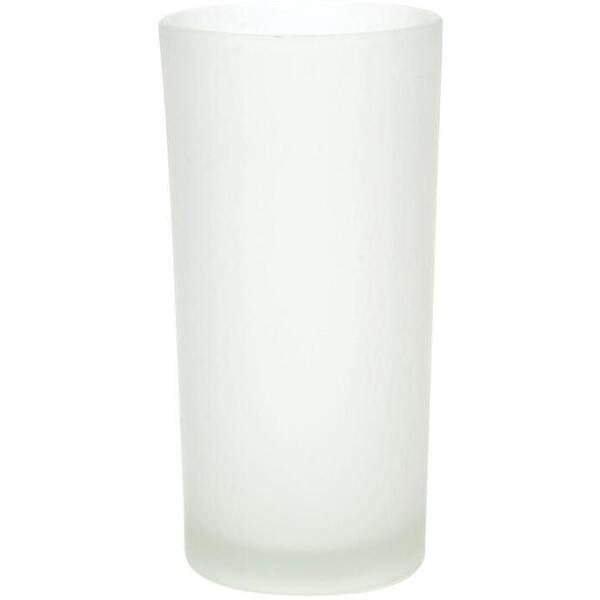 Hollowick Flameless Rechargeable LED Candle Lighting - Cafe Frosted Cylinder