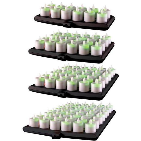 Hollowick Flameless Rechargeable LED Candle Lighting - Evolution Candles 12 Pack