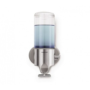 Single Wall Mount Stainless Steel Pump Dispenser