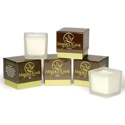 Massage Flame Candle - Flora The World's Finest All Natural Body Massage Candle