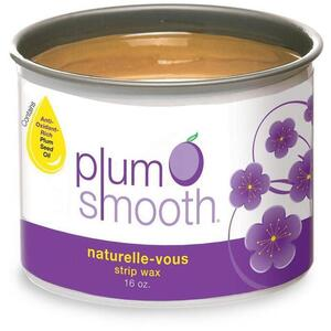 Plum Smooth Strip Wax - Naturelle'-Vous 16 oz.