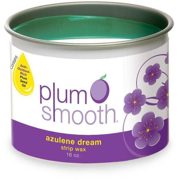 Plum Smooth Strip Wax - Azulene Dream 16 oz.