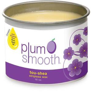 Plum Smooth Stripless Wax - Tou-Shea Cashmere 16 oz.