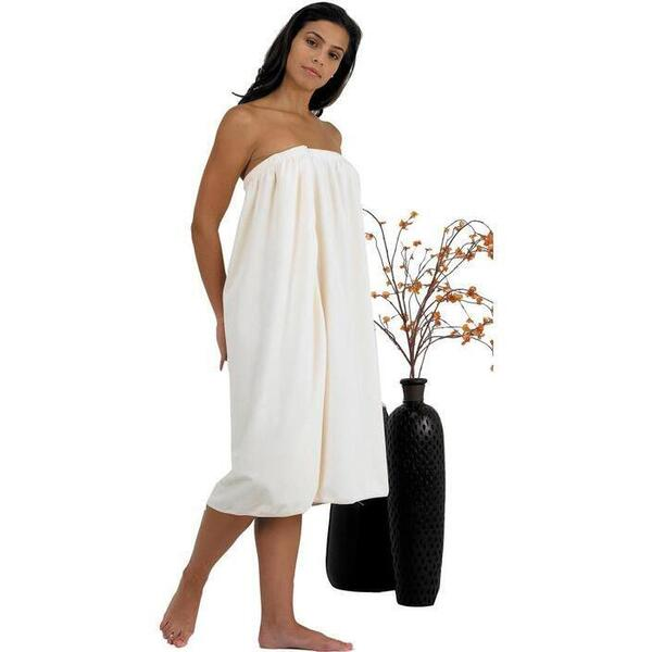 Canyon Rose Cloud 9 Microplush Women's Spa Wrap Sand Once Size Fits Most
