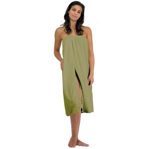Canyon Rose Cloud 9 Microplush Women's Spa Wrap Sage Once Size Fits Most